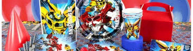 Festa Transformers, addobbi ed accessori, feste compleanno per bambini - Palaparty S.r.l.