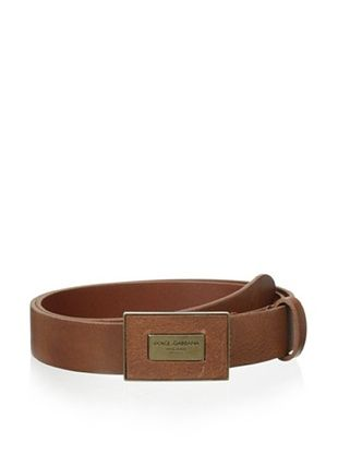 51% OFF Dolce & Gabbana Men's Belt (Brown)