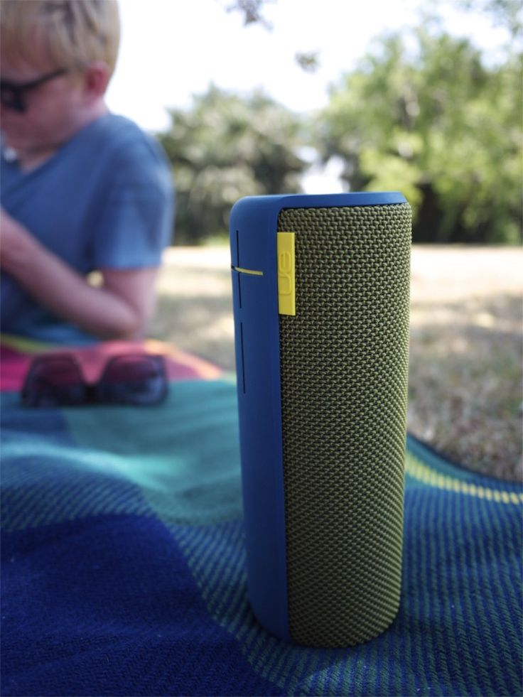 UE Boom - Portable Speaker with Bluetooth and Water Resistant