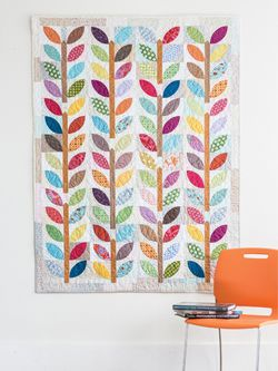 Summer Leaf in Quilty Jul/Aug 2014