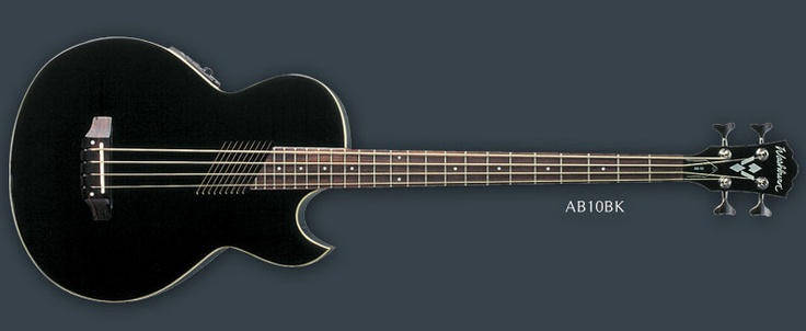This Washburn Acoustic bass used to be available in blue; that's what color mine is.