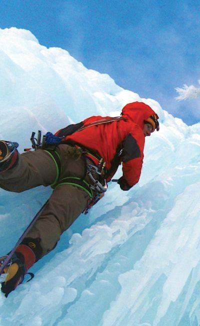Gi bort en utfordring? Prøv isklatring er et introkurs i den spennende sporten. En perfekt opplevelse til friluftsmennesket!