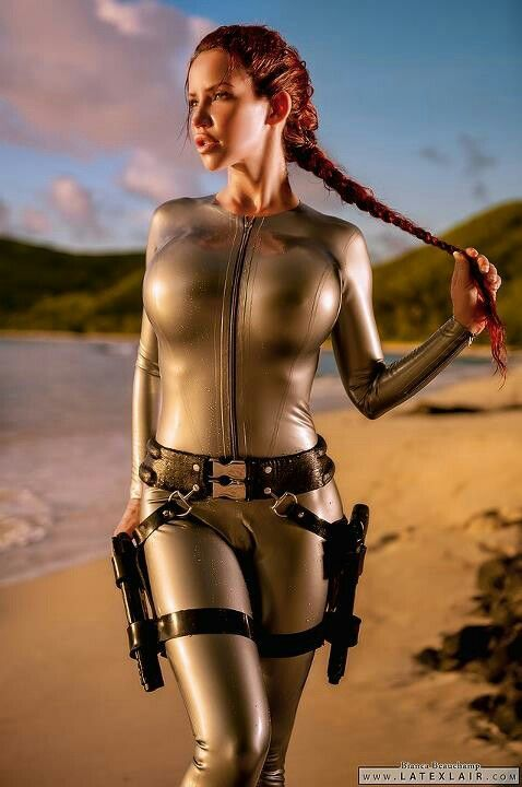 Lara Croft (Tomb Raider cosplay) - I wanna do this one year for Halloween