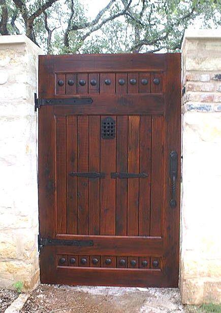 "Iron Door Viewer, ""Old Hacienda Style""  (2 pc. Iron Speakeasy Door Viewer Kit)"