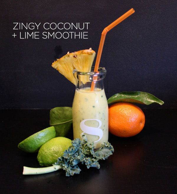 A zingy take on the regular smoothie!