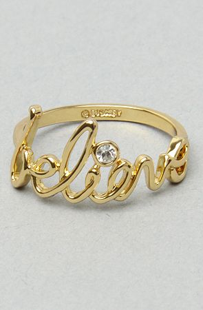 I <3 my Disney Couture Believe Ring - I'm wearing it right now!