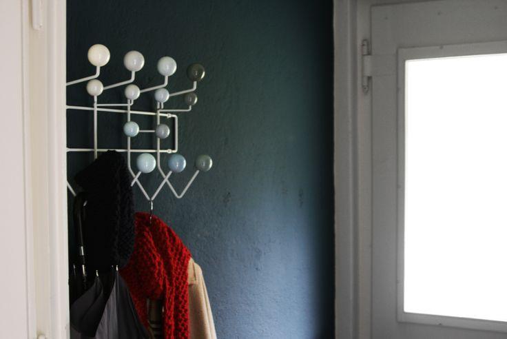 zuhause #Eames #Flur farrow and ball hague blue