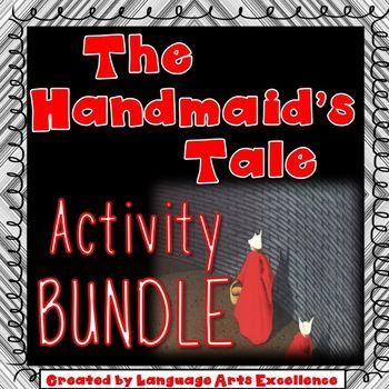 This resource features a growing bundle of all of my best-selling lesson plans, materials, and activities for Margaret Atwood's chilling novel, The Handmaid's Tale. Each product is thoughtfully crafted and allows students to think outside the box about the novel by delving deeply into themes, characters, and plot development.