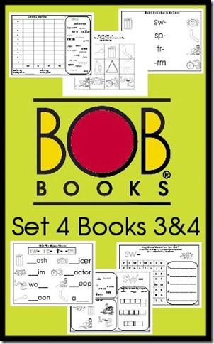 Free BOB Books Printables Set 4 Books 3 and 4 Royal Baloo