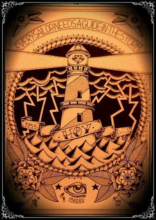 Lighthouse tattoo                                                                                                                                                     Mais