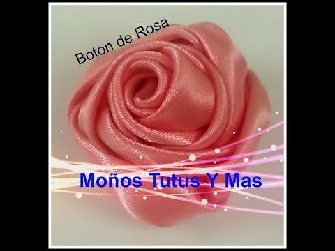 Paso a Paso Moño Facil Liston Satinado pap SATIN RIBBON BOW Tutorial DIY - YouTube