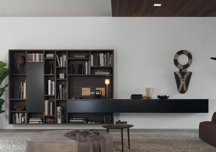 Die besten 25+ Moderne schrankwände Ideen auf Pinterest - moderne wohnzimmermobel