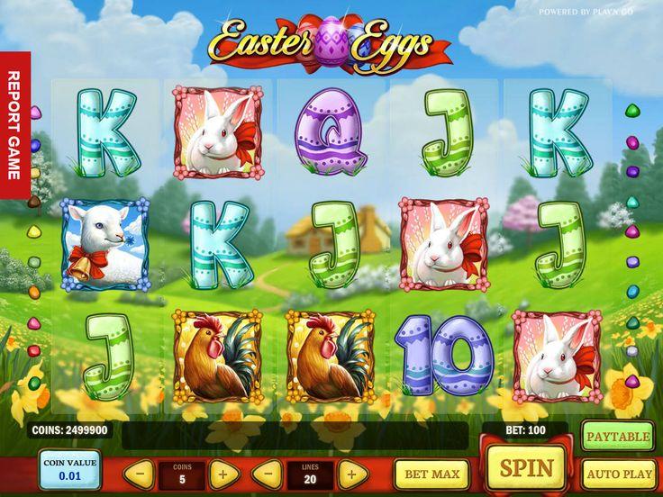 Lasst uns drehen absolut kostenlos Automat Easter Eggs - http://freeslots77.com/de/easter-eggs/