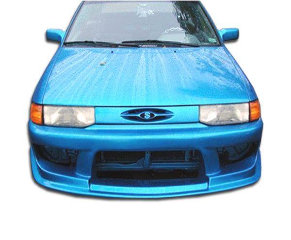 1991-1996 Ford Escort Duraflex Drifter Front Bumper Cover - 1 Piece