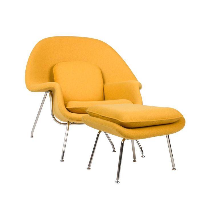 Nest Lounge and Ottoman Set | dotandbo.com | Pops of ...