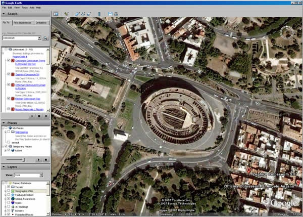 Earth Satellite view - a webcam in World, Other  |Satellite View Earth Via