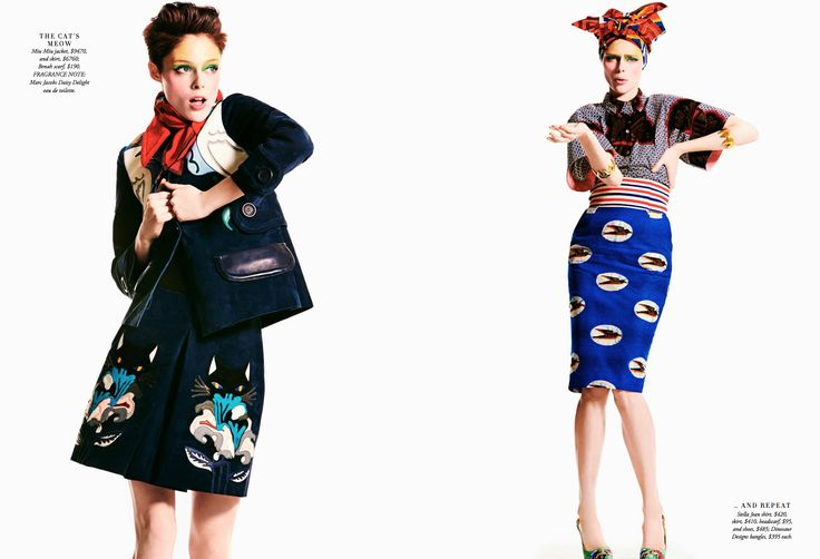 EDITORIAL: Coco Rocha | Harper's Bazaar Australia, April '14 | Wilhelmina News - Blog for Wilhelmina Models