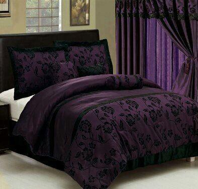 Purple Bedding Deep Purple And Bedding On Pinterest