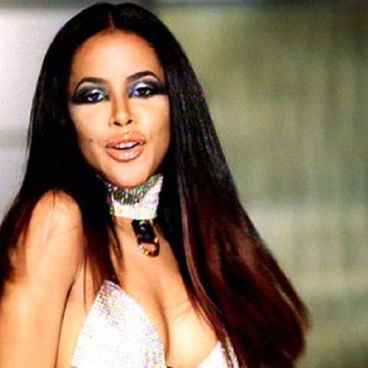 "Edgy~Futuristic Glam look. Aaliyah for MAC, favorite makeup looks - Aaliyah ""Try again"" #AaliyahforMAC"