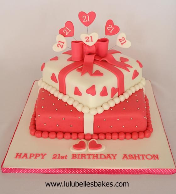Cakes For Girls St Birthday