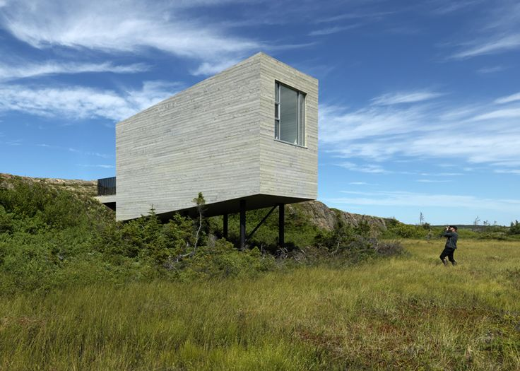 Part of the Fogo Island project, Saunders Architects have designed these amazing isolated cabins like inspirational shelters for artists. However, besides being the grounds for creation, the four cabins...