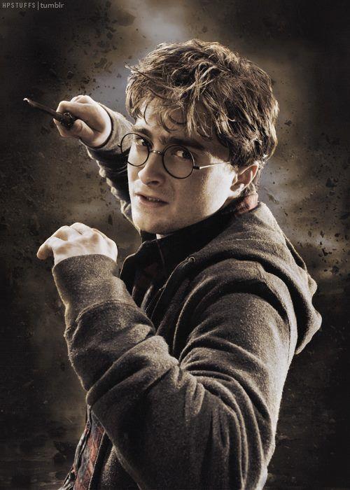 Harry Potter - He looks so like James here