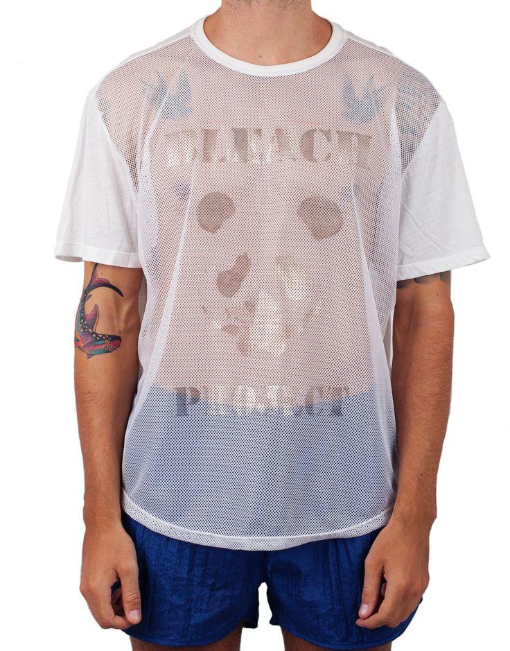 Bleach Mesh Basketball Tee
