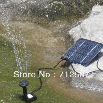 Kit de envío libre de la energía solar fuente del estanque de la piscina Bomba de agua 8097 en Jardín Edificios de Mejoras en Aliexpress.com