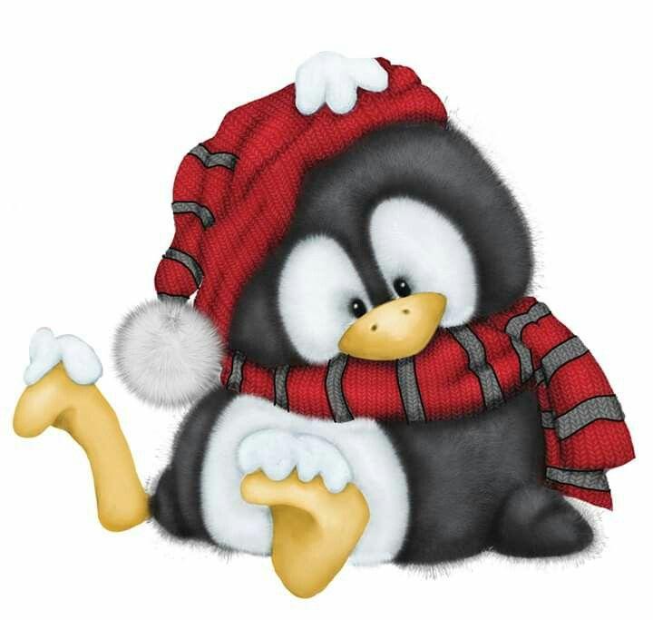 новогодние пингвины картинки время повседневной жизни