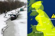 Met Office weather warnings: Snow forecast latest as Mini Beast from the East sweeps in -  Drivers are being advised to avoid certain roads by Highways England with up to 10cm snow expected to fall on higher routes.  The Met Office is also warning that travel delays on roads are likely with the risk of passengers and their vehicles becoming stranded a real possibility.  Drivers are being advised to avoid trans-Pennine roads including the M62 (junctions 21 to 25) A628 and A66 if at all…