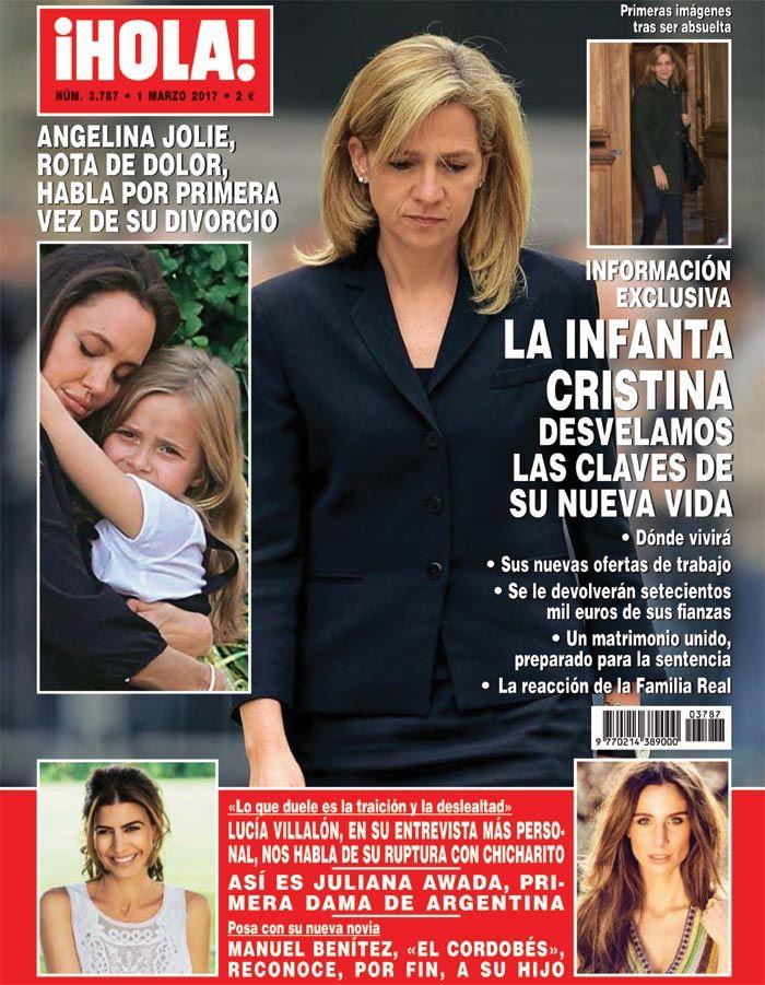 Portada ¡HOLA! con la infanta Cristina