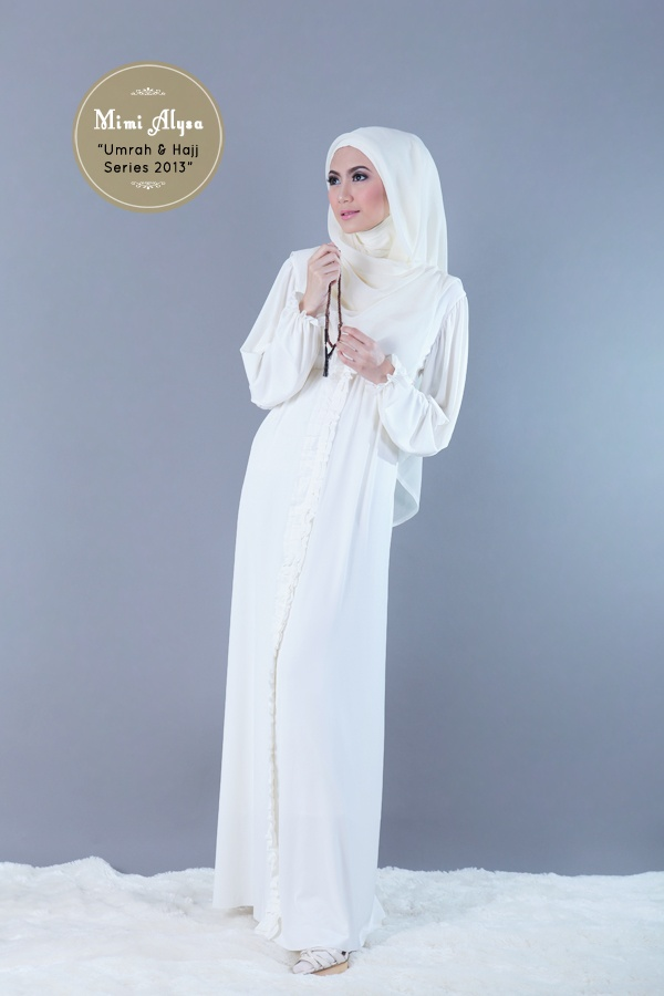 "#Mimi Alysa - ""Trisha Dress"" - Umrah and Hajj Series 2013"