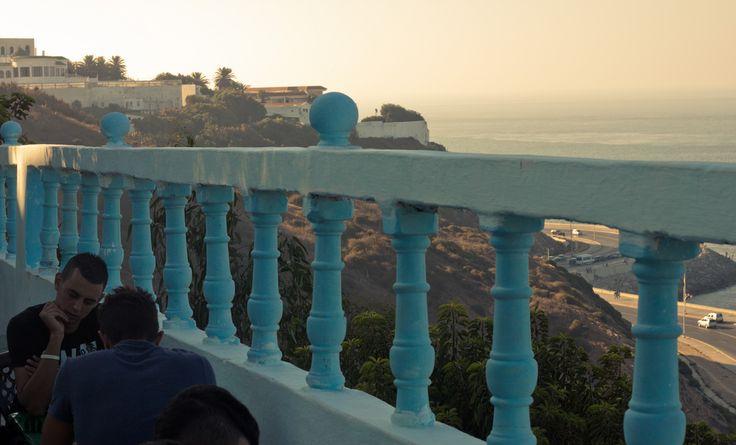 Cafe Hafa - Tangier, Morocco