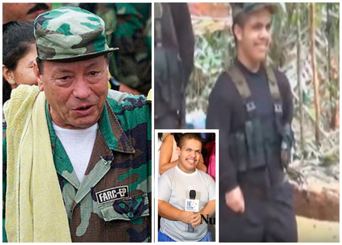 'El Enano' como lo llaman en las Farc, es bilingüe, estuvo al cuidado del Mono Jojoy, y ahora hace parte del equipo de prensa de la guerrilla