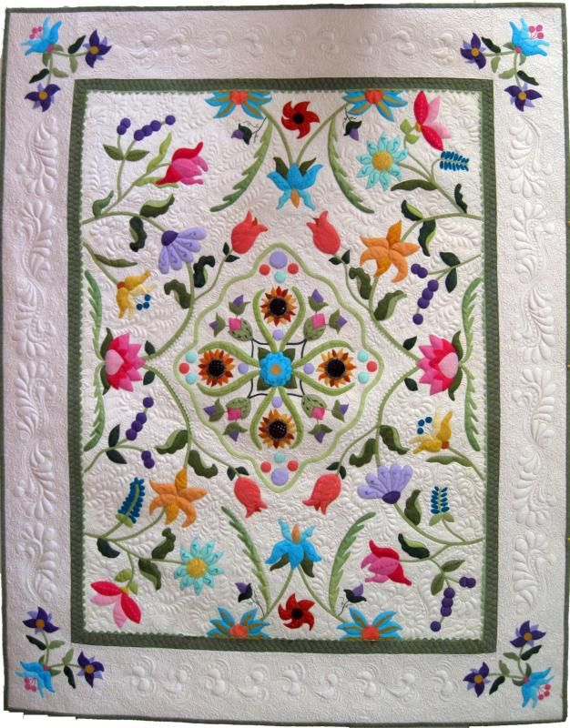 Third Place at World Quilt Florida 2015