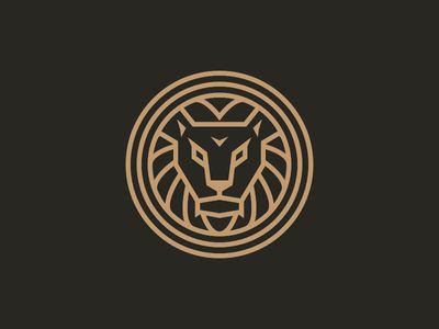 Roar! Lion logo by Jared Hill