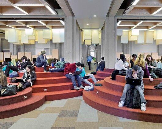"""Learning Commons"" da Biblioteca da Universidade de York (11)"
