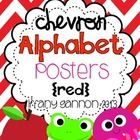 This chevron alphabet pack is sure to brighten any classroom! This packet contains an 8.5x11 set of manuscript alphabet posters. Each poster contai...