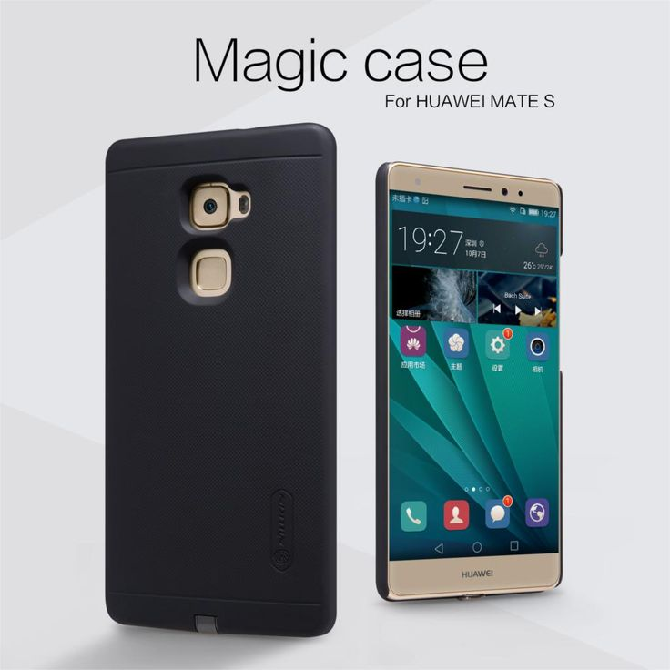 Original Nillkin Magic Qi Standard Wireless Charging Receiver Back Cover For Huawei Ascend Mate S CRR-L09 CRR-UL00 Hard Cases #Affiliate