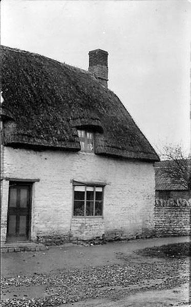 Clare's Cottage in Helpston, pictured in the early 1900s