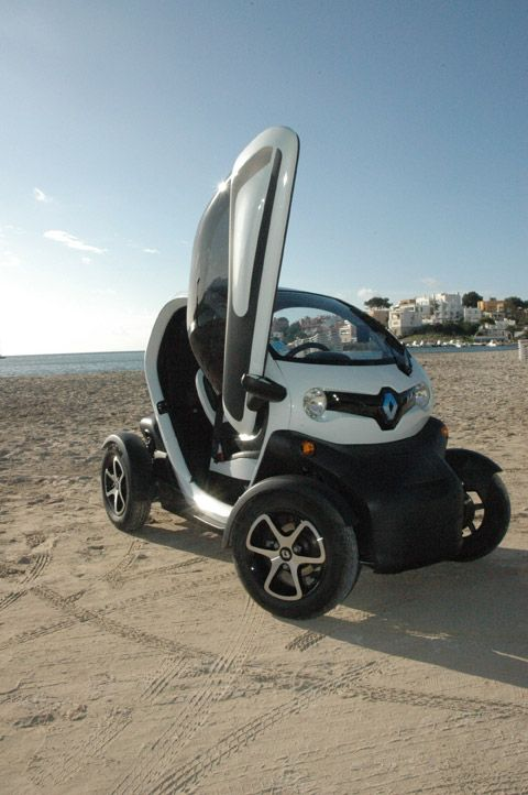 Renault Twizy... At least it is not a smart car... :)