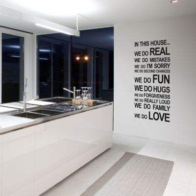 All of the decals at cheeky rascal are NEATO!: Inspiration, Wall Quotes, Wall Decal, Quotes Thoughts, Kitchen Ideas, Craft Ideas, Quotes Sum