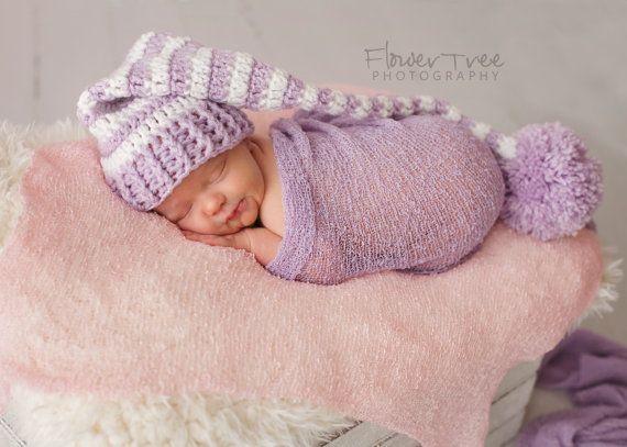 Sombrero de elfo recién nacido recién nacido foto Prop