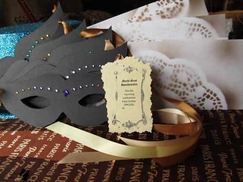 Diy Masquerade Invitations