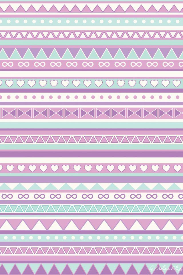 Purple pink tribal cute phone bg so cute love this want for case!