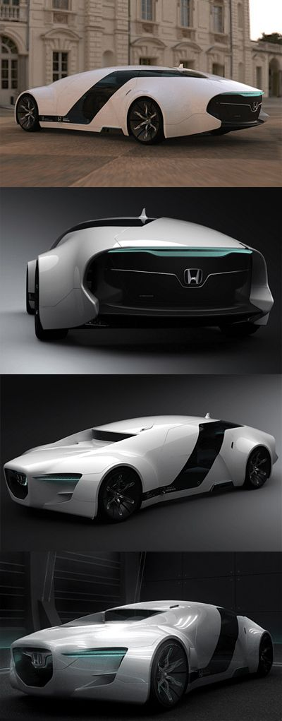♂ The Honda Zeppelin was a design created by Myung Jin Jung, a student of Hongik FOLLOW CONCEPTS IN MOTION - University's car design course. The Zeppelin was created for his final year thesis - for 2008 the brief was to design a luxurious sedan for the future.