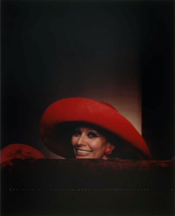 Sophia Loren, 1981 (by Yousuf Karsh)