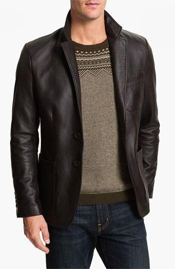 Alex & Co. Leather Blazer | Nordstrom
