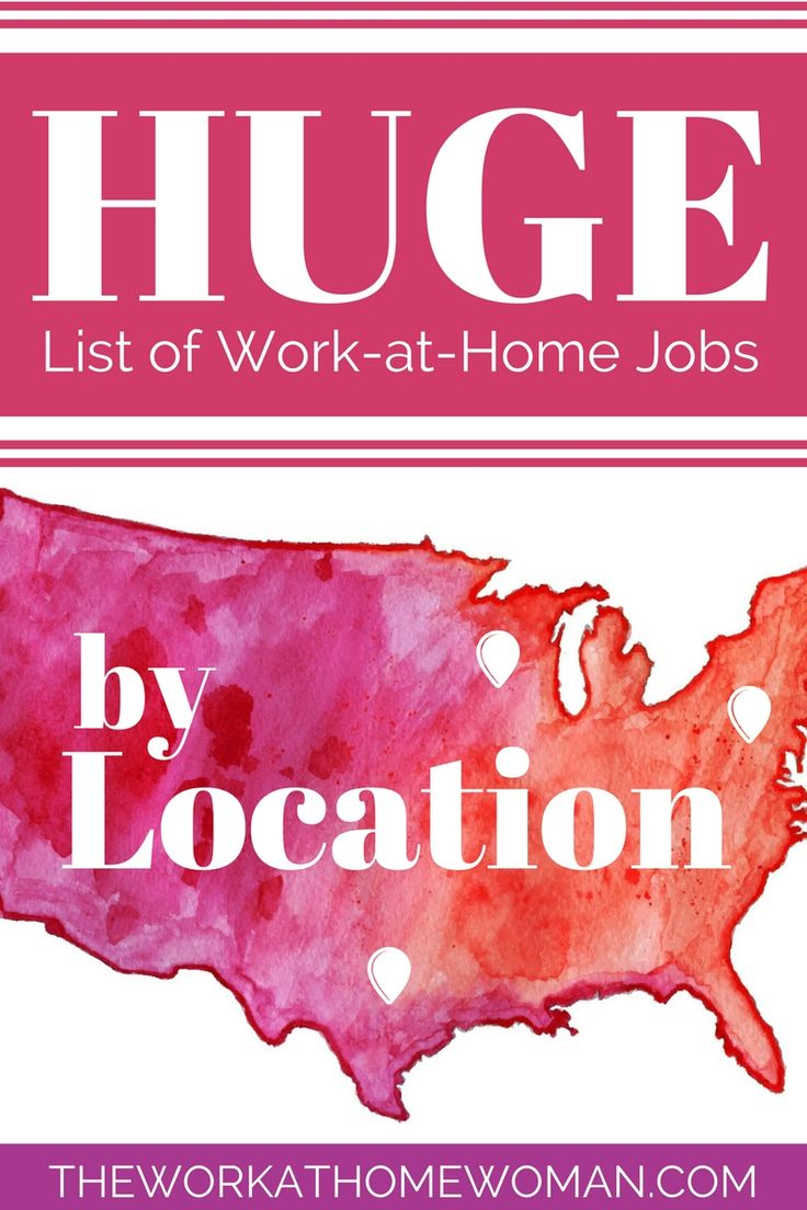 Wondering why a certain work from home job isn't available in your state?! There are many reasons why certain jobs are not available in all states; ranging from state regulations in regards to Independent Business Owner (IBO) status and release of information, to cost effectiveness, efficiency, taxation issues, and location-based training requirements. So to help fast-track your work-at-home search we've compiled a list of work-at-home jobs by location.