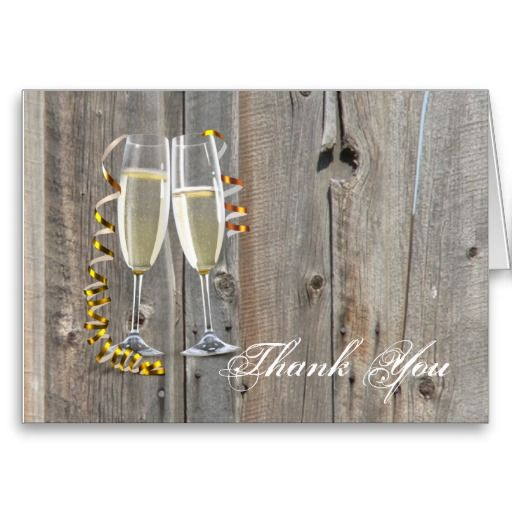 Best Thank You Cards Images On   Country Weddings